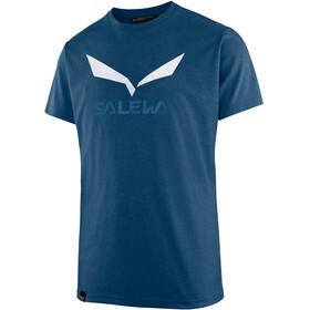 Salewa Solidlogo Dri-Release Miehet Lyhythihainen paita , sininen